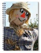 Scarecrow Farmer Spiral Notebook