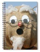 Scarecrow Gramps Spiral Notebook