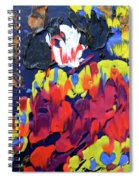 Scary Clown Spiral Notebook