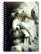 Scary Face Spiral Notebook
