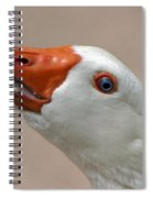 Scary Goose Spiral Notebook