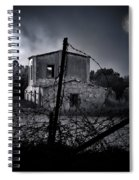Scary House Spiral Notebook