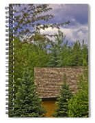 Scene Through The Trees - Vail Spiral Notebook