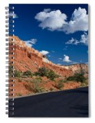 Scenic Drive Through Capitol Reef National Park Spiral Notebook