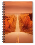 Scenic Highway Spiral Notebook