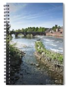Scenic Landscape With Old Dee Bridge Spiral Notebook