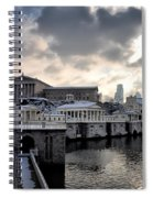 Scenic Philadelphia Winter Spiral Notebook