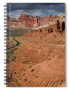 Scenic Road 1 Spiral Notebook