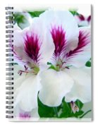 Scented Geraniums 2 Spiral Notebook
