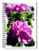 Scented Geraniums Spiral Notebook