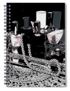 Scents Of A Woman II Abstract Spiral Notebook