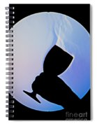 Schlieren Image Of Wine Vapors Spiral Notebook