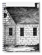 Schoolhouse, 18th Century Spiral Notebook