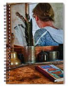 Schoolmarm's Desk Spiral Notebook