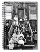 Schoolmistress, 1893 Spiral Notebook