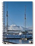 Schooner 8 Spiral Notebook