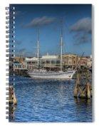 Schooner 9 Spiral Notebook