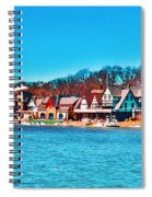 Schuylkill Navy Boat House Row Spiral Notebook