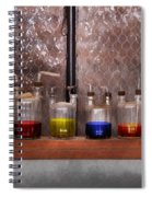 Science - Chemist - Glassware For Couples Spiral Notebook