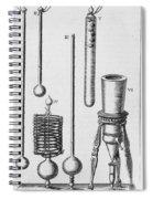 Scientific Instruments Spiral Notebook