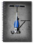 Scooter Spiral Notebook