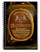 Scotch Whisky Spiral Notebook