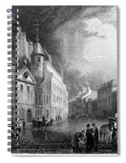 Scotland: Aberdeen, 1833 Spiral Notebook