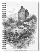 Scotland: Gilnockie Tower Spiral Notebook