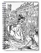 Scotland: Witch Burning Spiral Notebook