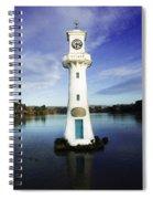 Scott Memorial Lighthouse 2 Spiral Notebook
