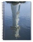 Scott Memorial Lighthouse Reflection Spiral Notebook