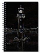 Scott Memorial Roath Park Cardiff 2 Spiral Notebook