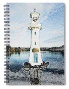 Scott Memorial Roath Park Cardiff 3 Spiral Notebook