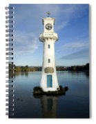 Scott Memorial Roath Park Cardiff Spiral Notebook