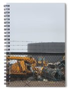 Scrapyard Machinery Spiral Notebook