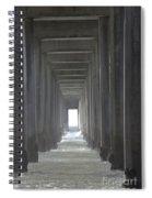 Scripps Pier La Jolla California2 Spiral Notebook