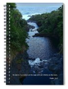 Scripture And Picture Psalm 24 2 Spiral Notebook