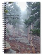 Scripture And Picture Psalm 48 14 Spiral Notebook