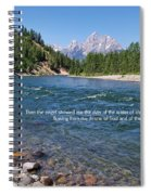 Scripture And Picture Revelation 22 1 Spiral Notebook