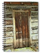 Scripture And Picture Revelation 3 20 Spiral Notebook