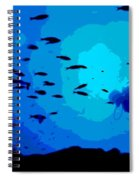 Scuba Dive Spiral Notebook