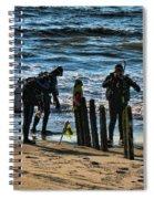 Scuba Divers Spiral Notebook