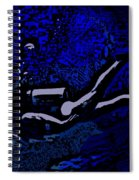 Scuba Girl Spiral Notebook