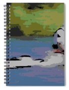 Sculling For The Win Spiral Notebook