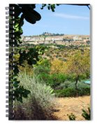 Sculpture Garden In Sicily 2 Spiral Notebook