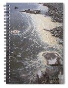 Sea Foam And Algae Spiral Notebook