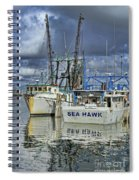 Sea Hawk Under Cover Spiral Notebook