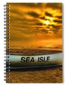 Sea Isle Dawn Spiral Notebook