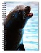 Sea-lion Spiral Notebook