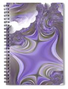 Sea Of Lavender Spiral Notebook